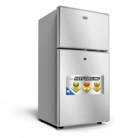 Réfrigérateur - 85L - GRIS...