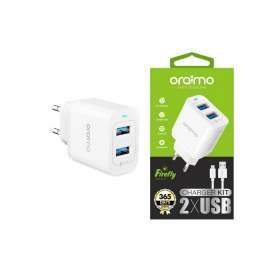 Oraimo - Chargeur Kit 2 x USB - OCW/E61D