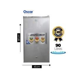 Réfrigérateur - 90L - GRIS...